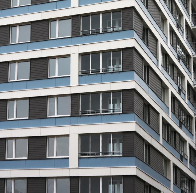 Жилой квартал «Волжская-LIFE» © Архитектурная мастерская «Сергей Киселев и Партнеры»