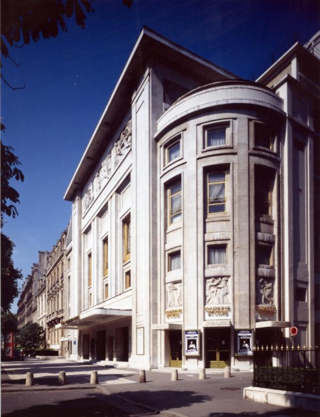 Театр Елисейских полей в Париже. Фото предоставлено Théâtre des Champs-Elysées