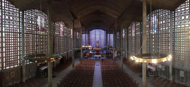 Церковь Нотр-Дам де Ренси. Фото предоставлено ОМА