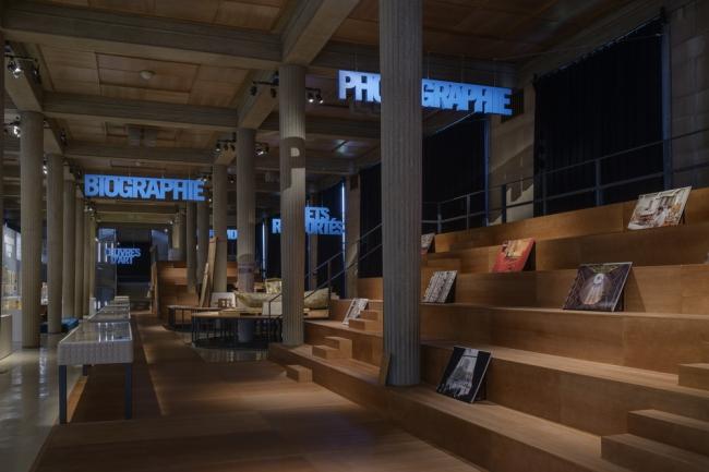 Вид экспозиции «Огюст Перре. Восемь шедевров». Фото: Florian Kleinefenn. Предоставлено Fondazione Prada и CESE