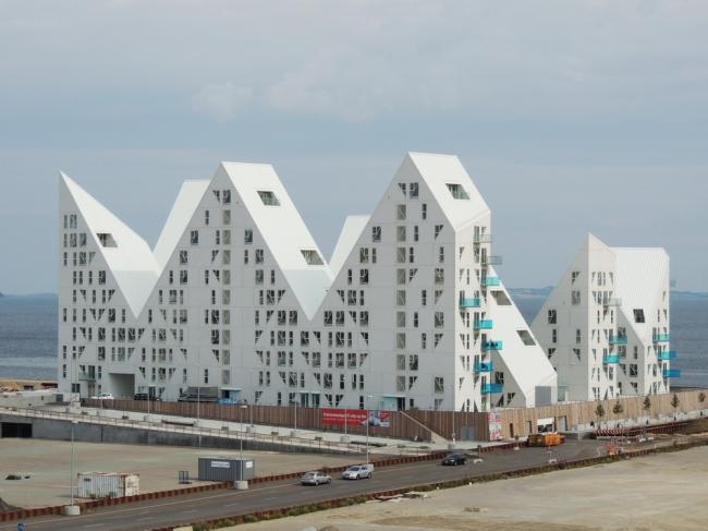 Жилой комплекс «Айсберг» (Isbjerget). Фото © Елизавета Клепанова
