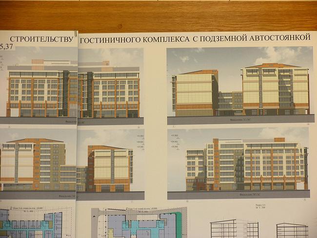 Проект гостиницы - регенерации красной линии на Бол.Якиманке