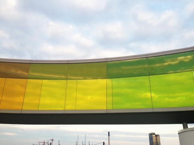 Инсталляция «Ваша радужная панорама» (Your rainbow panorama) Фото © Елизавета Клепанова