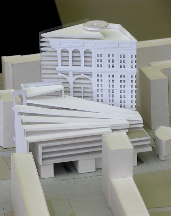 Макет здания ИТАР-ТАСС. Фотографии Ирины Фильченковой