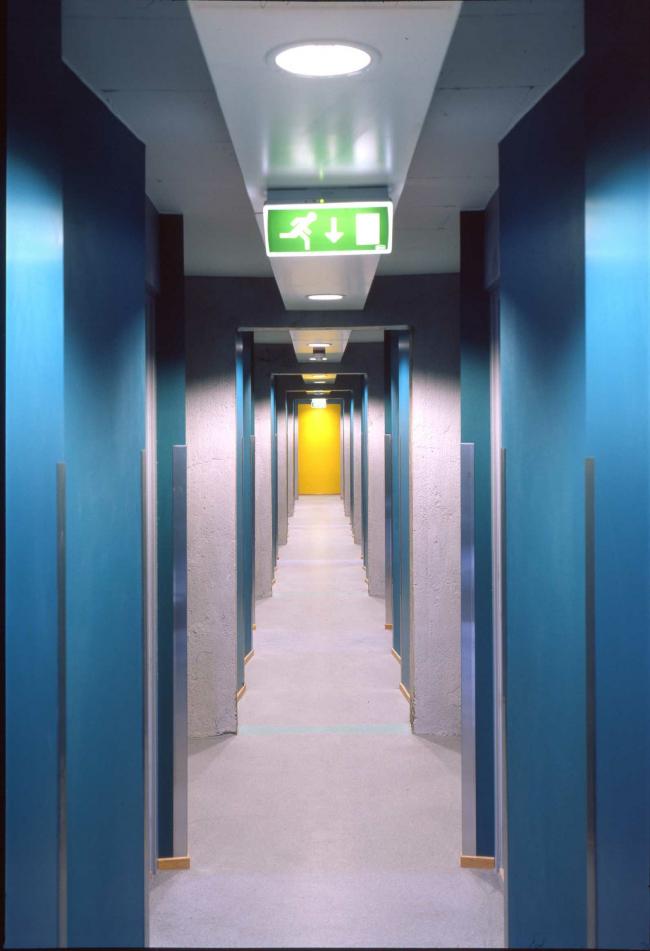 Общежитие Grünerløkka studenthus. Изображение предоставлено HRTB