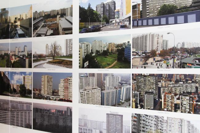 Раздел Архитектура. Сравнение показывает, что панельная застройка в Москве и других мегаполисах, в сущности, очень похожа // «Археология периферии». Фотография Ю. Тарабариной