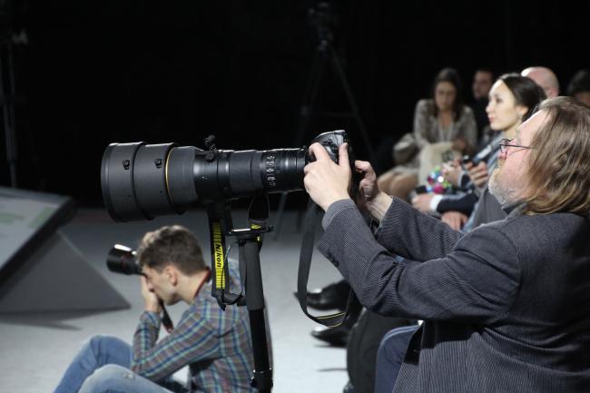 Самый большой объектив на форуме. Фотография Ю. Тарабариной