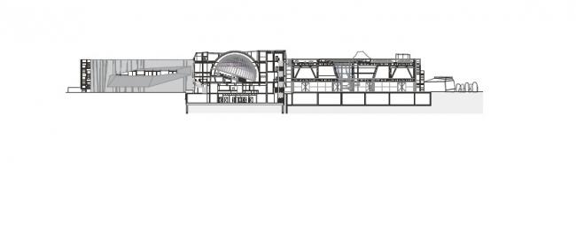 Научный центр Коперника. Изображение предоставлено RAr2 Laboratorium Architektury