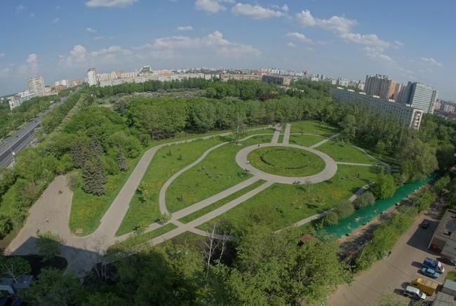 Сиреневый сад. Существующее положение. Источник: http://sev-izm.livejournal.com