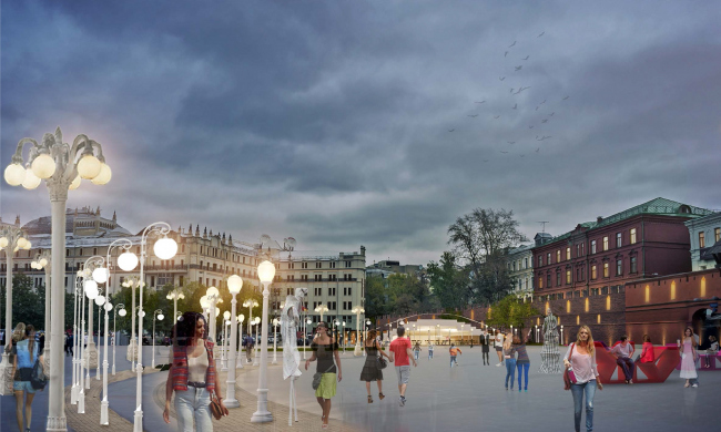 Площадь революции. Архитектурное бюро Wowhaus