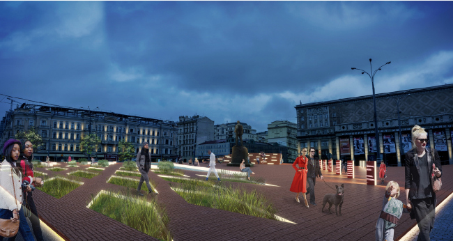 Триумфальная площадь. Архитектурное бюро Wowhaus