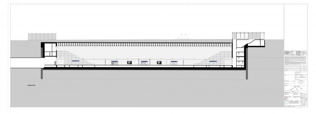 Станция городской электрички Вильгельм-Лойшнер-платц © Max Dudler Architekt
