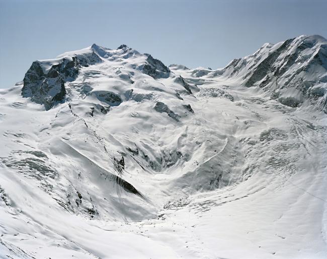 Дом для альпинистов Монте-Роза. Место до начала строительства © ETH-Studio Monte Rosa