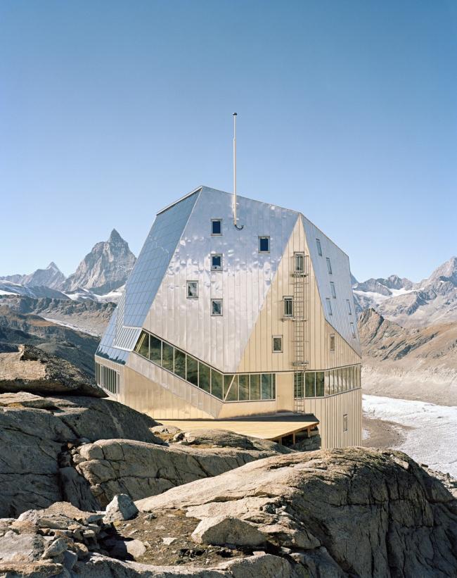 Дом для альпинистов Монте-Роза © ETH-Studio Monte Rosa