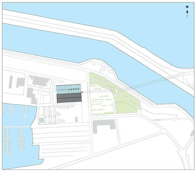 Здание FRAC Север – Па-де-Кале © Lacaton & Vassal Architectes