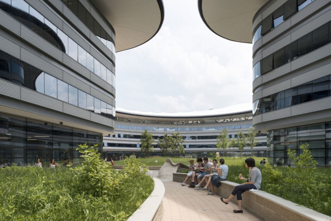 Кампус Туринского Университета © Nigel Young – Foster + Partners