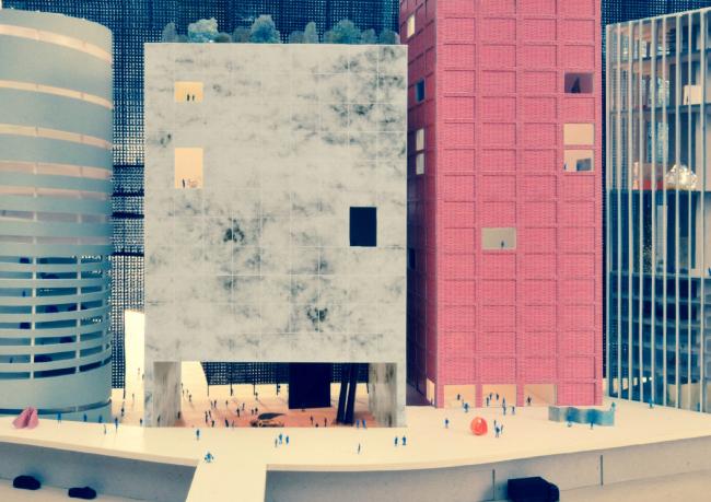 51N4E и OFFICE KGDVS. Конкурсный проект нового здания ГЦСИ в Москве. Материалы предоставлены организаторами конкурса