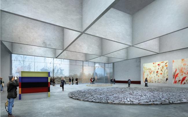 Nieto Sobejano Arquitectos. Материалы предоставлены организаторами конкурса