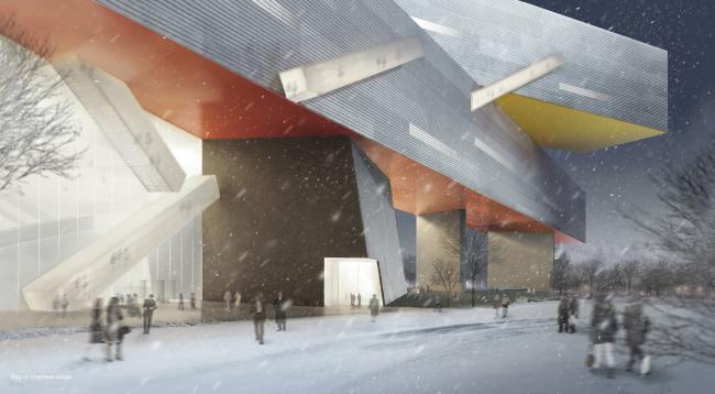 Steven Holl Architects. Материалы предоставлены организаторами конкурса