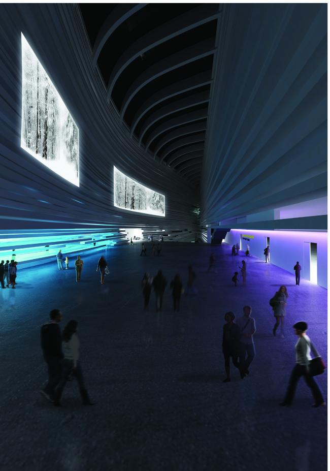 Ghirardelli Architetti. Материалы предоставлены организаторами конкурса