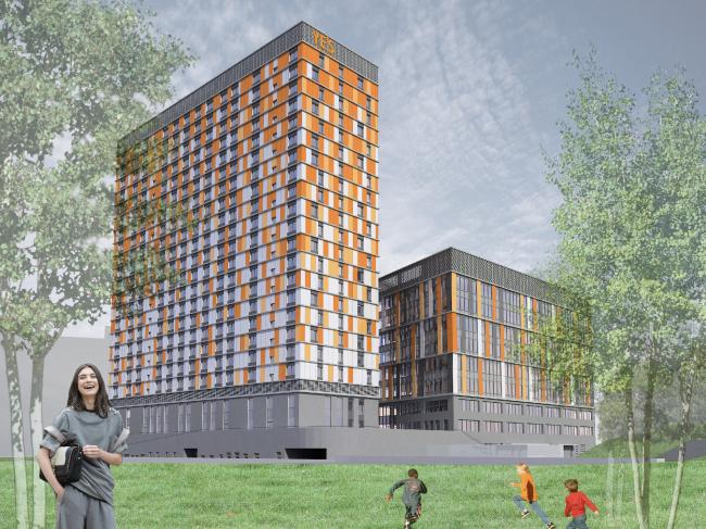 Многофункциональный комплекс с апарт-отелем YE`S. Изображение с сайта m.yesapart.ru