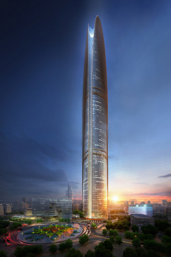 Небоскреб Pertamina Energy Tower © SOM