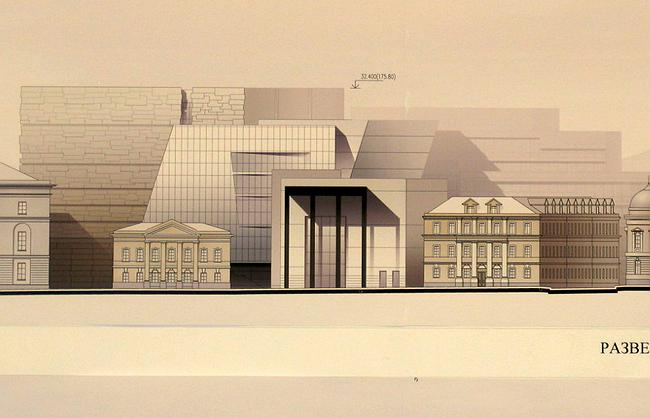 Предпроект нового комплекса Российской государственной библиотеки Сергея Ткаченко
