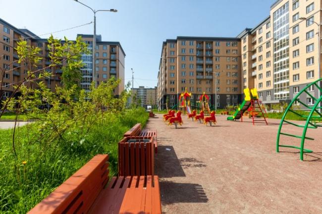 Жилой район «Славянка». Фотография с сайта oslavyanke.ru
