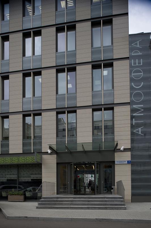 Офисный комплекс Атмосфера (реконструкция). © ADM