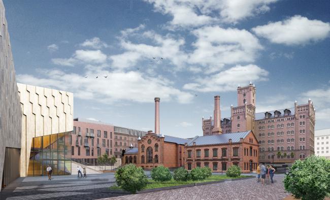Архитектурная и градостроительная концепция реконструкции и реновации территории фабрики «Саратов мука»