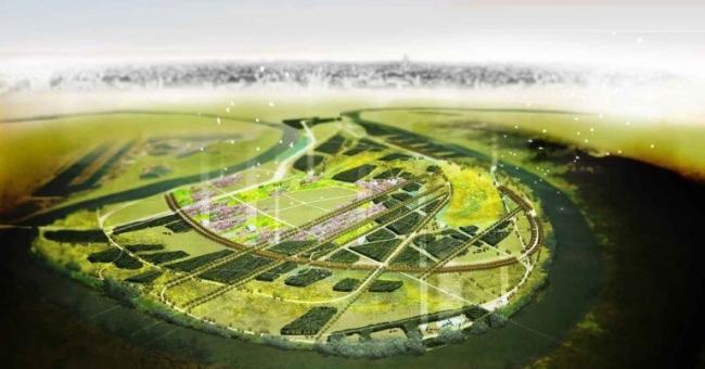 Green benefits Mnevniki. Концепция развития Мневниковской поймы. 2012. Работа из портфолио OKRA landscape architects (Нидерланды, Утрехт) © OKRA
