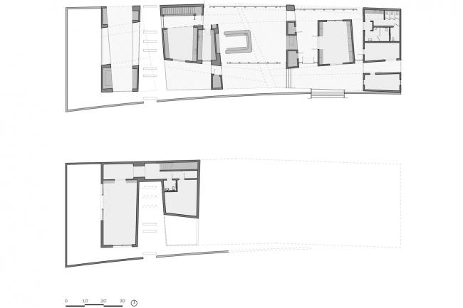 Дегустационный зал винодельни Sokol Blosser © Allied Works Architecture
