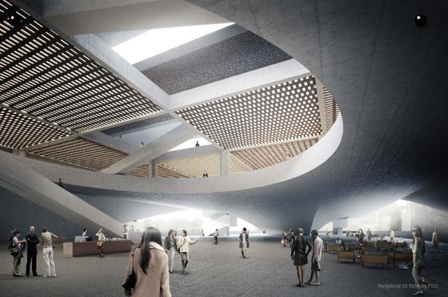 1-я премия. Проект KohlmayerOberst Architekten