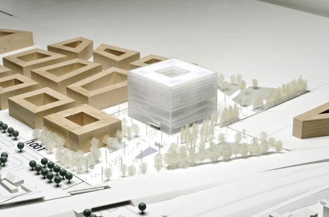 Поощрительная премия. Проект MARS Architekten + Uberbau и Höhler + Partner Architekten und Ingenieure (победитель конкурса идей)