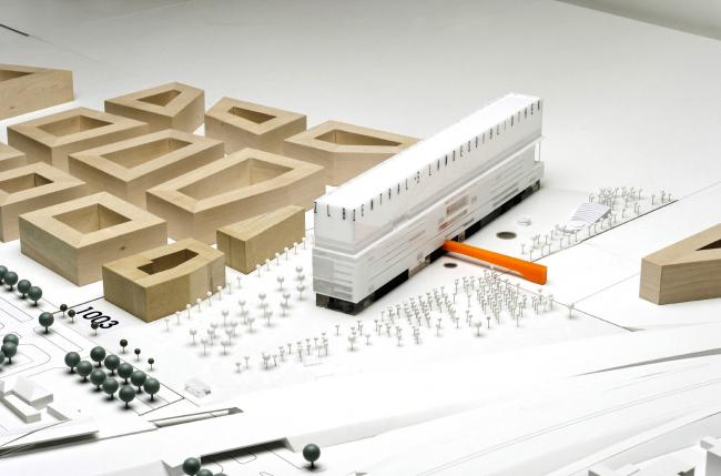 Поощрительная премия. Проект Studio Motta-Stapenhorst (победитель конкурса идей)
