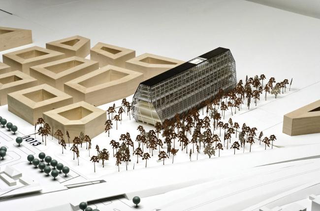 Поощрительная премия. Проект Thomas Kröger Architekt (победитель конкурса идей)
