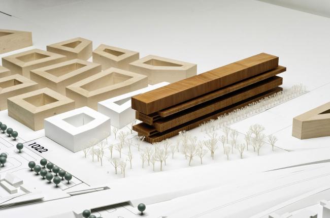 Поощрительная премия. Проект Bär Stadelmann Stöcker Architekten