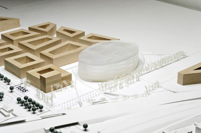 Поощрительная премия. Проект Ortner & Ortner Baukunst