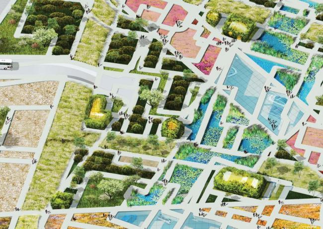 Парк «Зарядье». Проект. © Консорциум MVRDV. Изображения предоставлены бюро Атриум