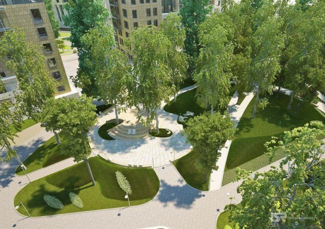 ЖК «Смольный парк», II очередь. Изображение с сайта kvartira-lux.ru