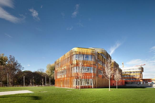 Комплекс зданий факультета права и администрации Венского экономического университета © Kurt Kuball