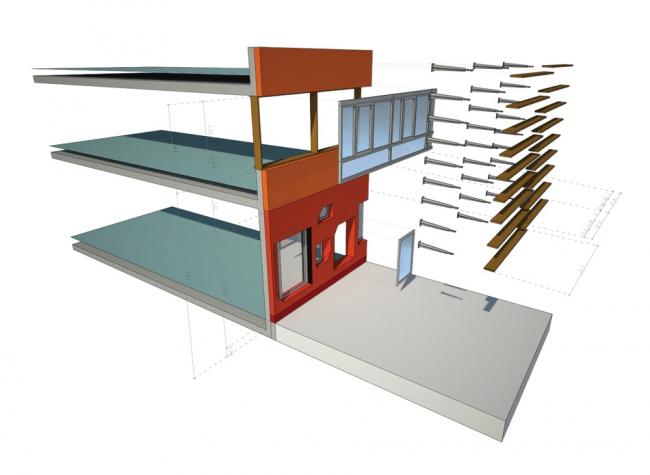 Комплекс зданий факультета права и администрации Венского экономического университета © CRAB studio