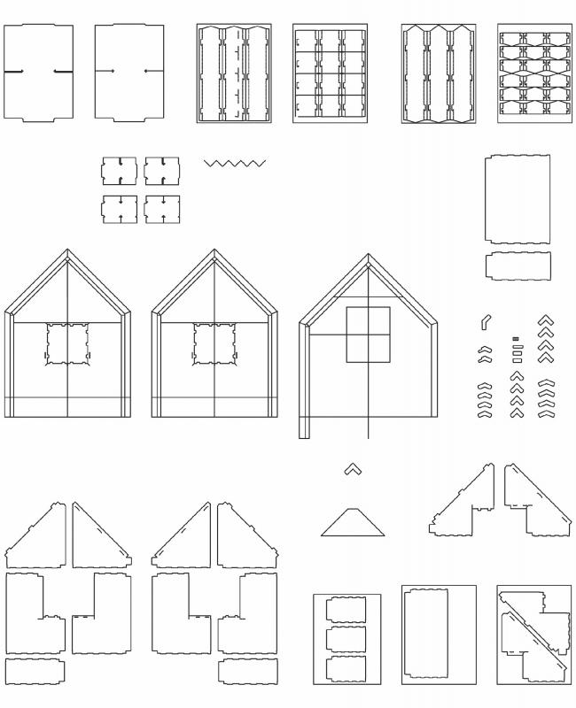 Домик «Хамелеон» © White Arkitekter