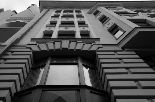 Элитный дом на ул. Пречистенка, 13. Изображение с сайта 2013.urbanawards.ru