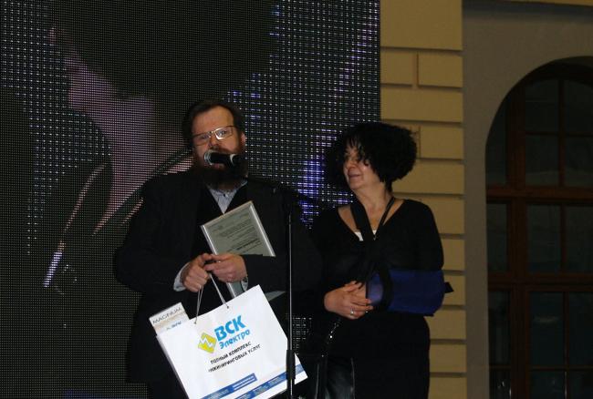 Михаил Мамошин с супругой. Фотография Аллы Павликовой