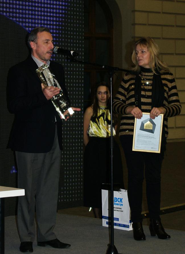 Михаил Кондиайн и Нина Поповская. Фотография Аллы Павликовой