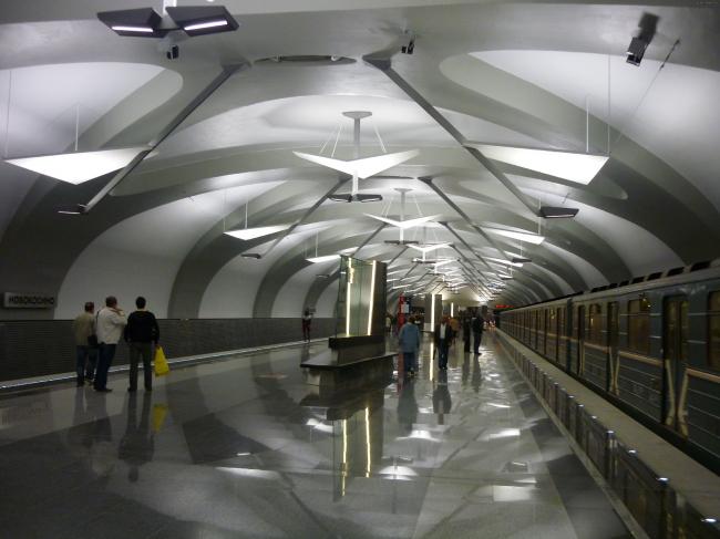 Станция метро «Новокосино». «Метрогипротранс». Источник: nashtransport.ru