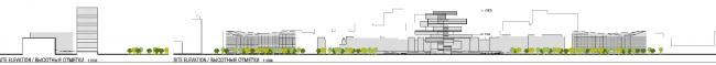 Музейно-выставочный комплекс ГЦСИ. Конкурсный проект Heneghan Peng Architects. Материалы предоставлены пресс-службой ГЦСИ.