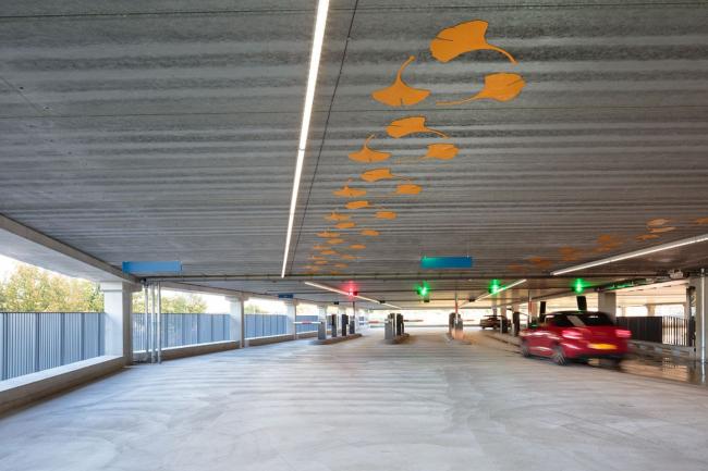 Паркинг P+R De Uithof © Ronald Tilleman