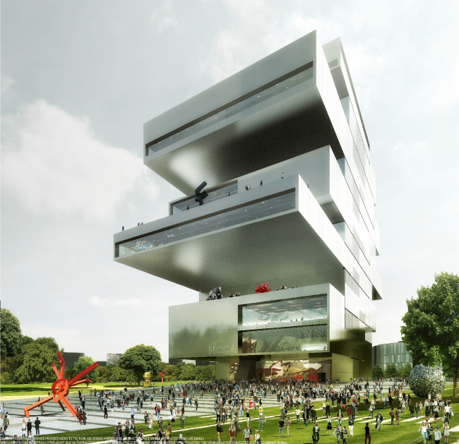 National Center of Contemporary Arts in Moscow © heneghan peng architects